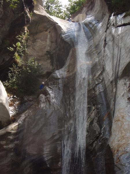 Canyoning Boggera