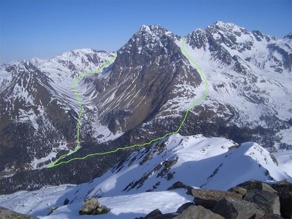Ganze Tour (grüne Linie)