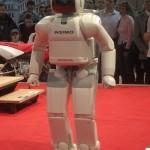 ASIMO an der Swiss-Moto