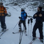 Telemark-Testweekend in Disentis